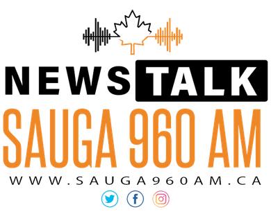 SAUGA 960 AM news talk logo